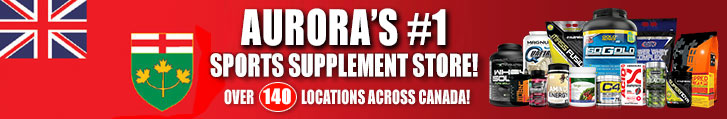 Popeye's Supplements in Aurora, Ontario