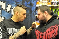 Dan Hardy: Popeye's Montreal QC. March 16, 2013