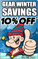GEAR Winter Savings - 10% OFF