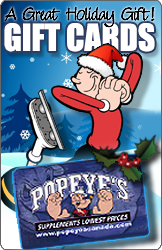 Popeye's Canada Holiday Gift Card