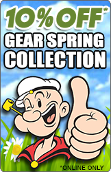 10% OFF GEAR Spring Collection