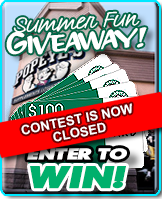 Starbuck's $100 Gift Card Summer Fun Contest!