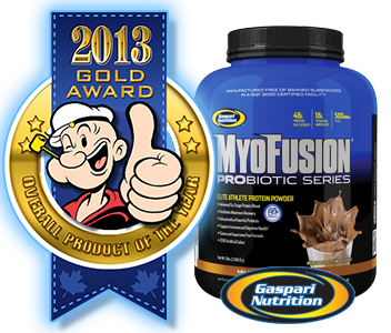Gaspari MyoFusion Probiotic - 2012 Gold Supplement of the Year