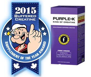 2015 TOP BUFFERED CREATINE: Fusion Bodybuilding: PURPLE-K