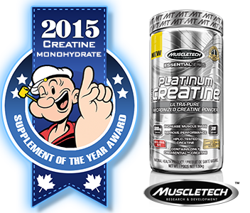 2015 TOP CREATINE MONOHYDRATE: MuscleTech: Platinum Creatine