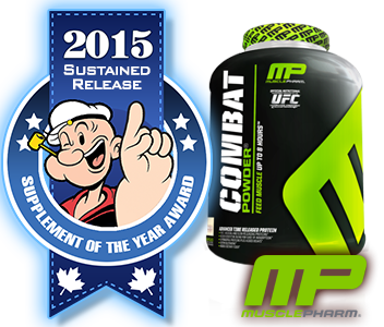 2015 TOP SUSTAINED RELEASE PROTEIN: MusclePharm Combat