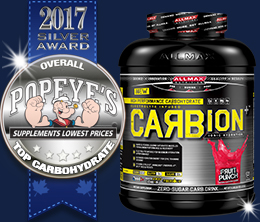 Silver: Top Carbohydrate Post-Workout Award