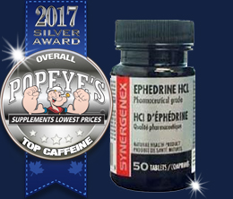 Silver: Top Ephedrine Award