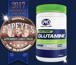 Bronze: Top Glutamine Award