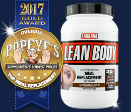 Gold: Top Meal Replacement Award