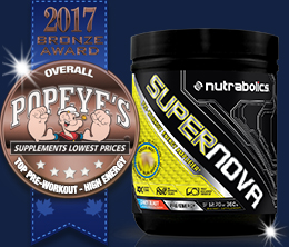 Bronze: Top Pre-Workout High Energy Award