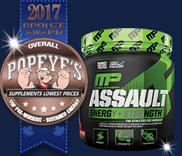 Bronze: Top Pre-Workout Sustain Energy Award