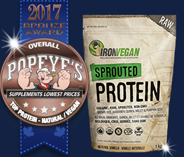 Bronze: Top Vegan & Vegetarian Award