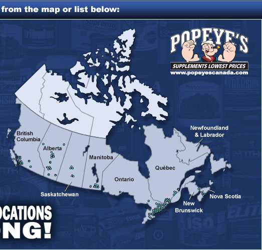 Popeyes Supplements Canada Over Locations Across Canada - Canada location